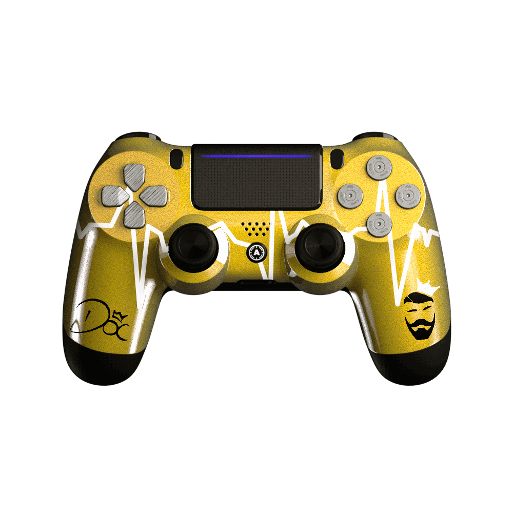 PS4 Custom controller DOC Gold