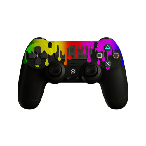 AIM Flowing Black PS4 Controller