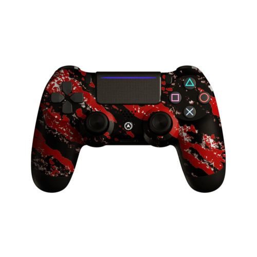Aim Camo Red PS4 Controller