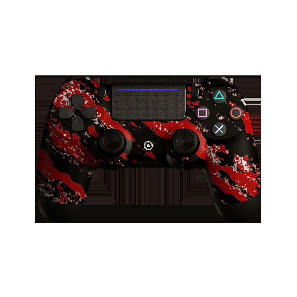 Aim Camo Red PS4 Controller