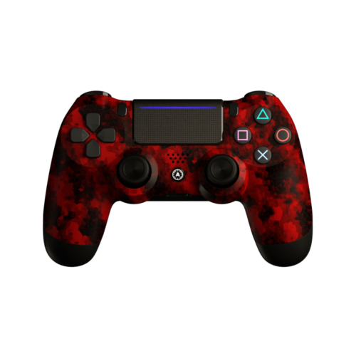 Aim Digi Camo Red PS4 Controller