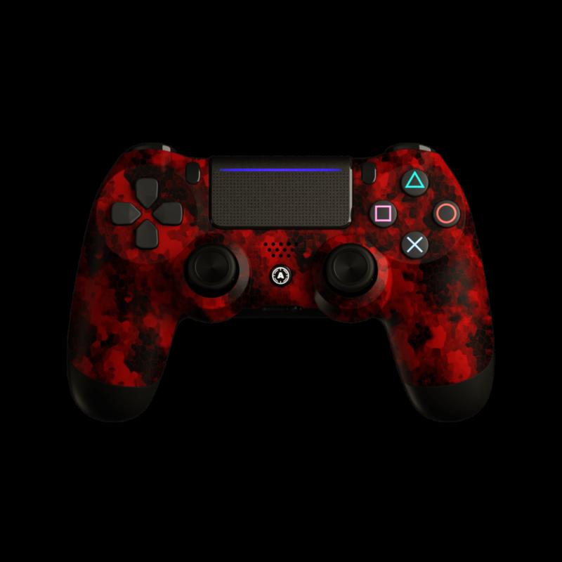 Aim Digi Camo Red PS4 Controller