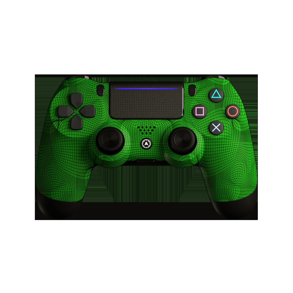 Aim Grid Green PS4 Controller