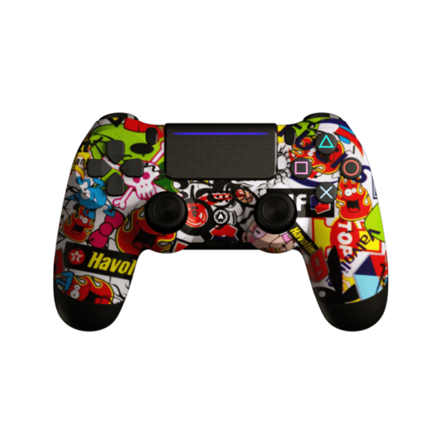 Aim Hydro StickerBomb PS4 Controller