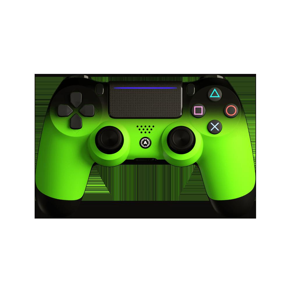 Aim Neon Green Shadow PS4 Controller