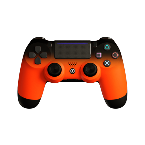 Aim Neon Orange Shadow PS4 Controller
