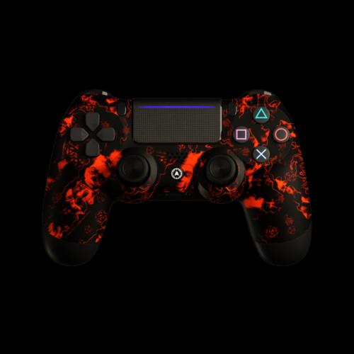 Aim ReaperZ Neon Orange PS4 Controller