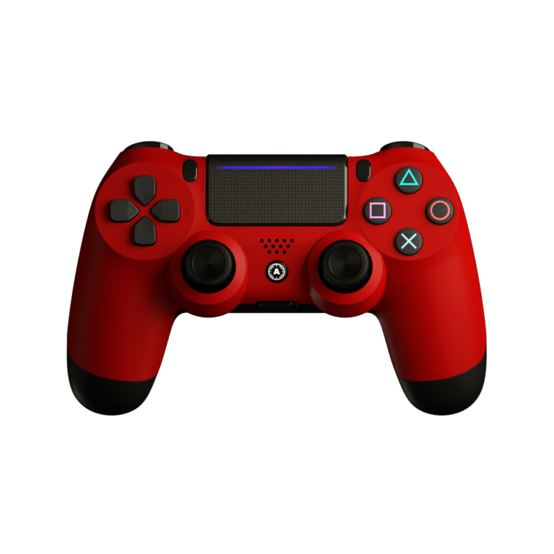 Aim Red Matt PS4 Controller