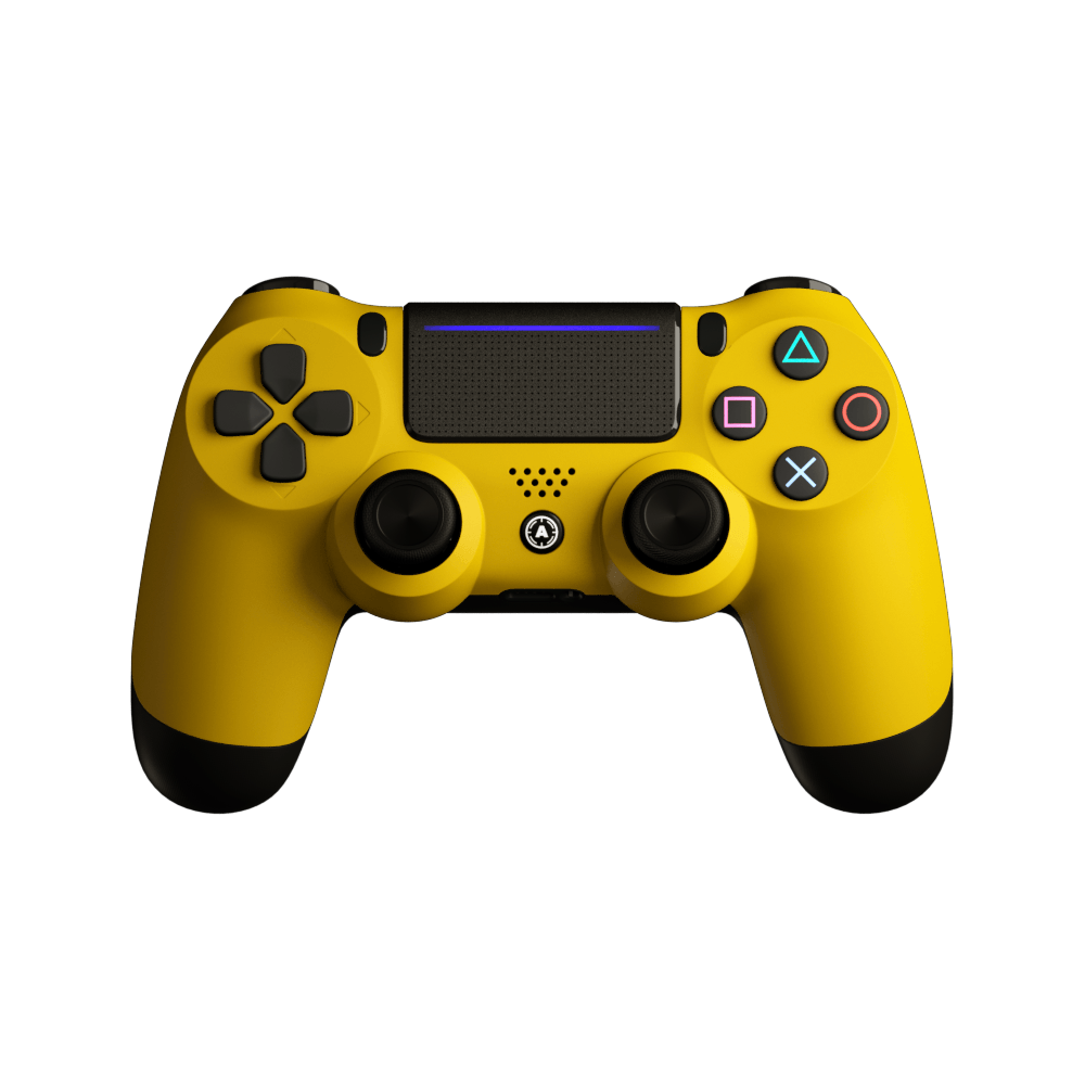 Aim Yellow Matt PS4 Controller