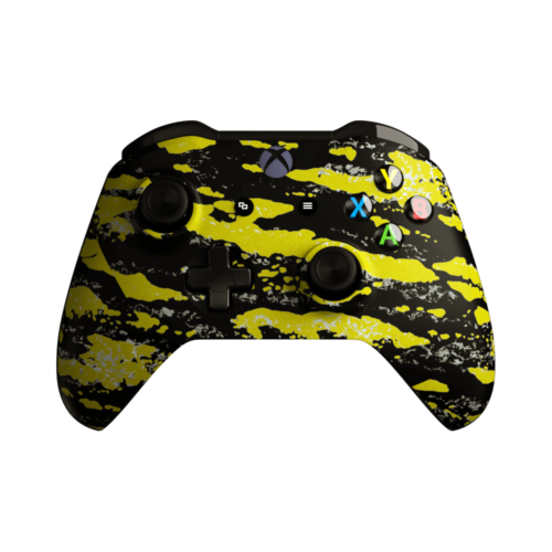 Aim Camo Yellow XO Controller