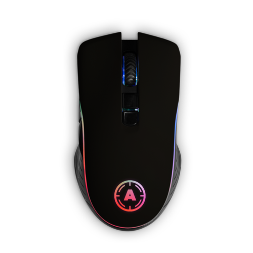 Aim Black Matt Mouse