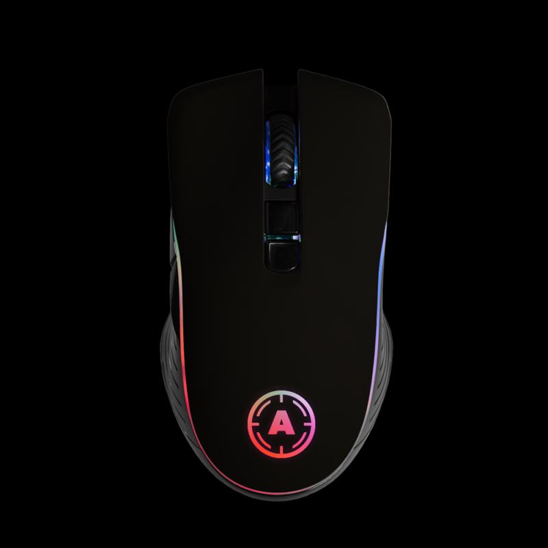 Aim Black Matt Mouse