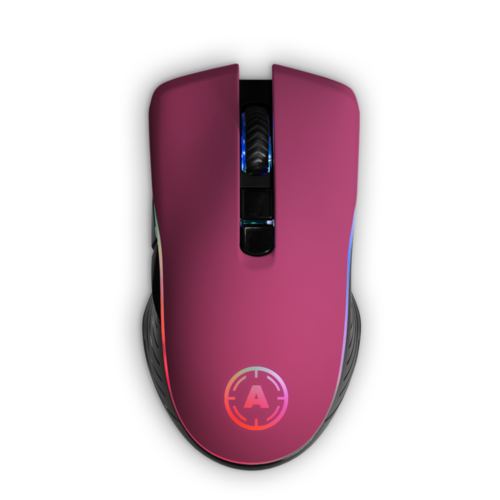 Aim Pink Matt RGB Mouse
