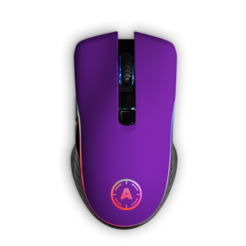 Aim Purple Matt RGB Mouse