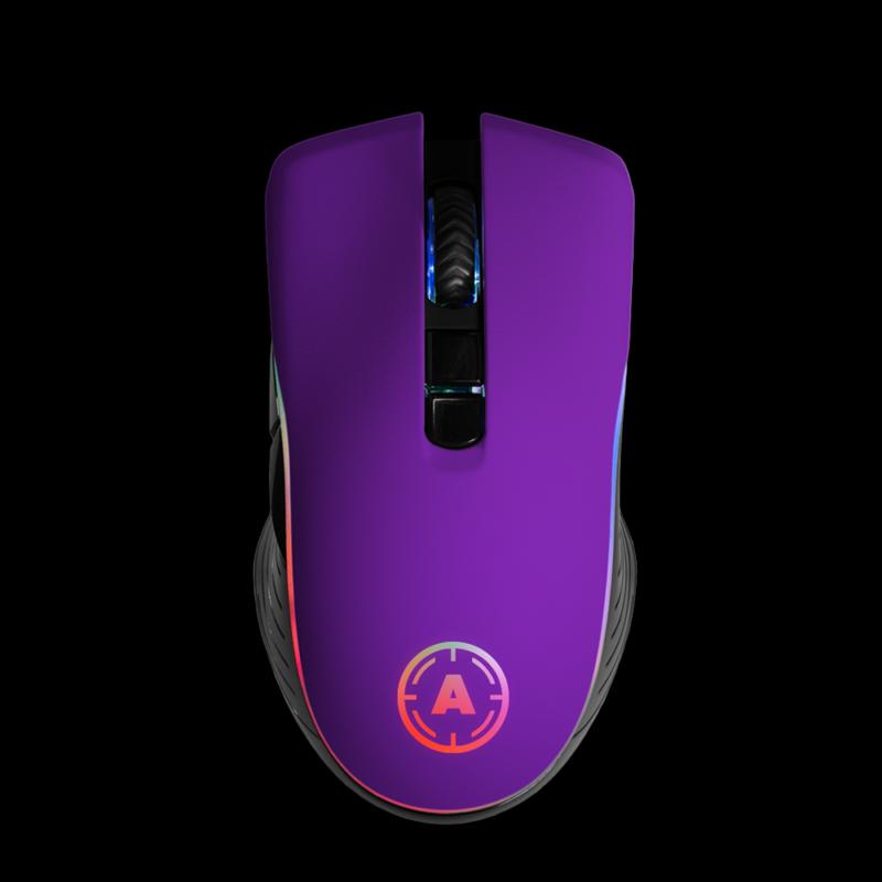 Aim Purple Matt RGB Mouse