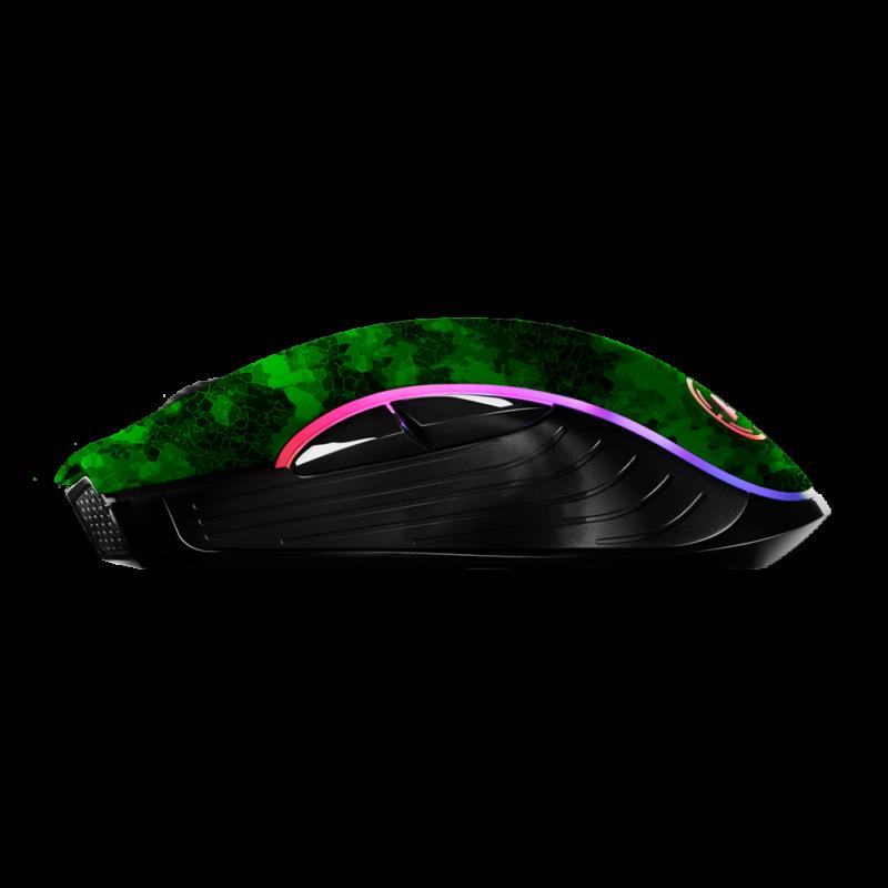 Aim Digi Camo Green RGB Mouse