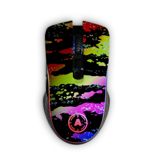 Aim Camo Color RGB Mouse