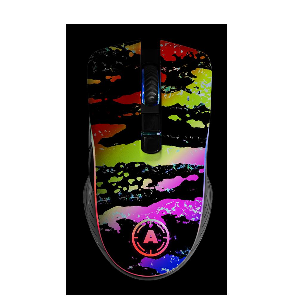 Aim Camo Color RGB Mouse