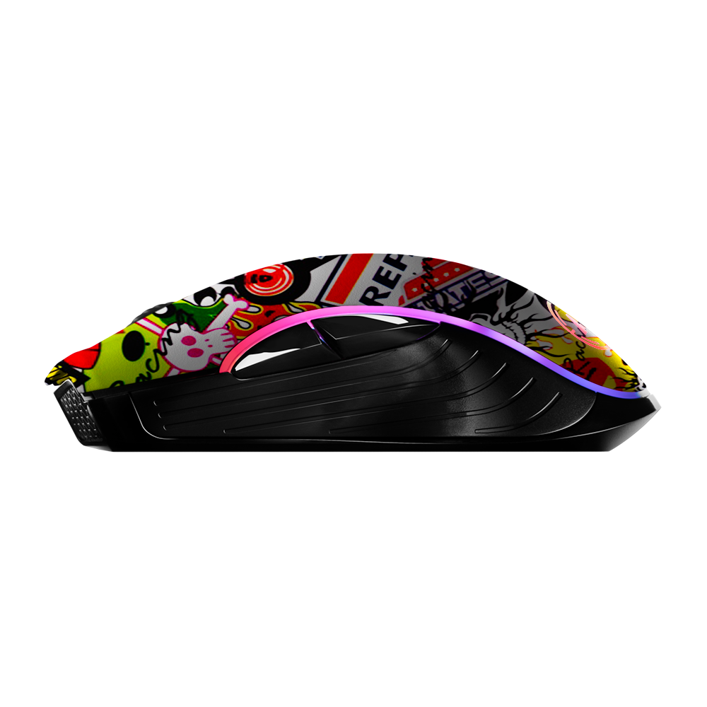Aim StickerBomb RGB Mouse