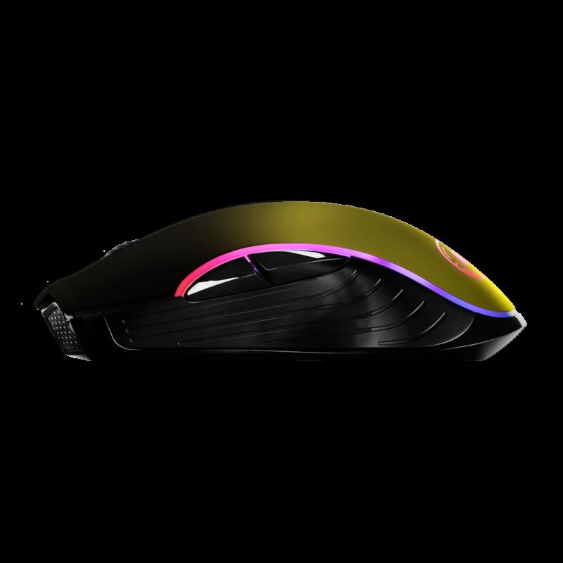 Aim Neon Yellow Shadow RGB Mouse