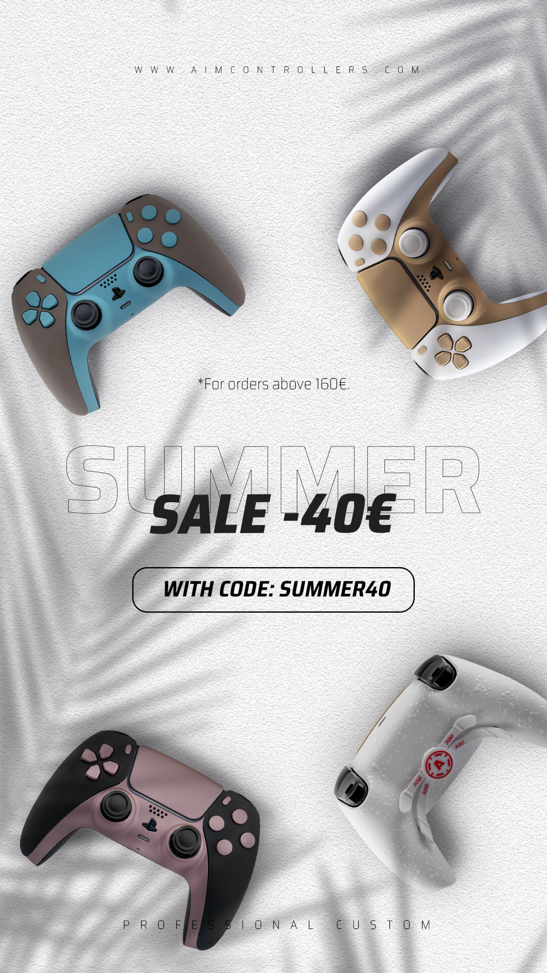 Customizable Playstation And Xbox Controllers Play Like A Pro With Aimcontrollers